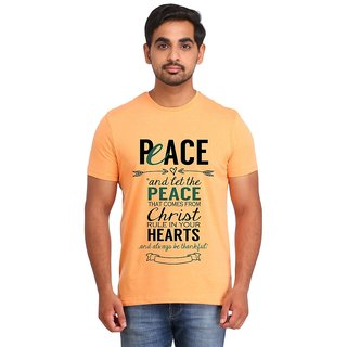 Snoby PEACE print t-shirt (SBY17025)