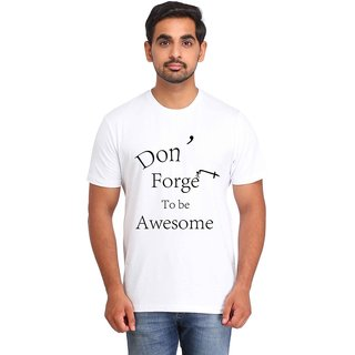 Snoby Don't Forget print t-shirt (SBY17069)