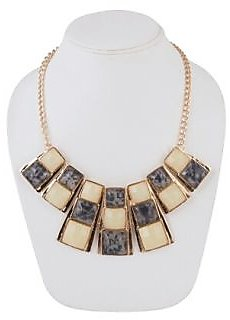 Agate Alloy Necklace