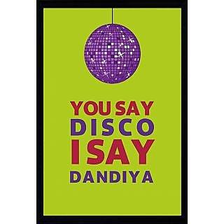 Disco Dandiya Poster