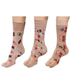 By The Way Mid Calf Thumb Socks(Pair of 3)