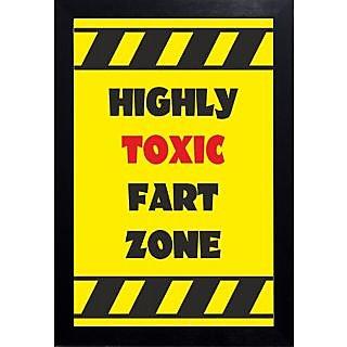 Funny-fart zone Wall Art