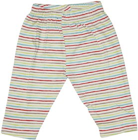 Wonderkids Multicolour Striped Track pant For 14 To 18 Months