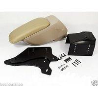 Universal Car Center Console Arm Rest / Hand Rest- Beige Color