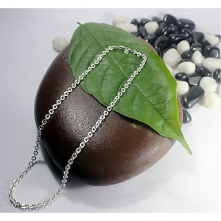 Silver Jewels-Heavy Curb Shaped Chains