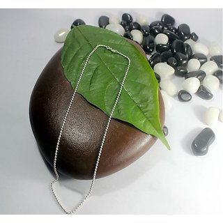 Silver Jewels -Fine Ball shaped Silver Chain