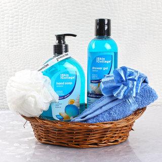 Skin Cottage Oceanus Fragrance Body Care Beauty Hamper for Unisex