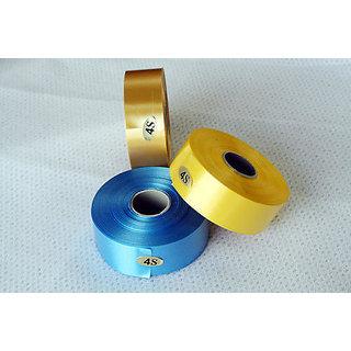 Plastic Ribbon , Multicolored Set Of 5 Rolls , Each 30Yrds