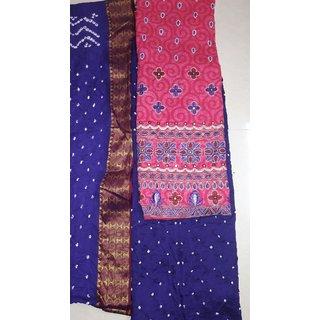 bandhni work(designer piece)