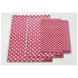 Notex Teen Series Animal Rush Notebooks Set of 3-Rabbit