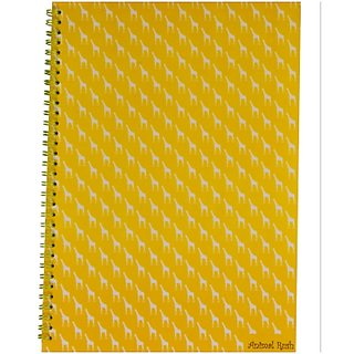 Notex Teen Series Animal Rush Notebooks Set of 3-Giraffe