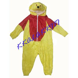 Pooh Cartoon Fancy Dress Costume For Kids