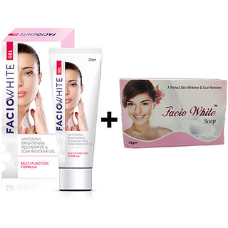 FACIO WHITE GEL-20GM (Scar Remover Gel)