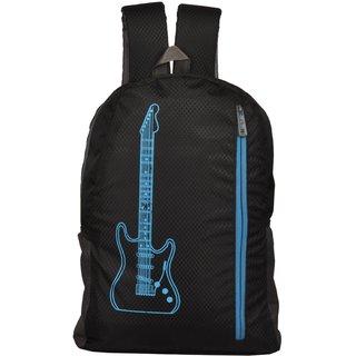 Lapaya Black Nylon School Bag