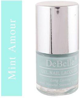 DeBelle Gel Nail Lacquer Mint Amour Mint Blue
