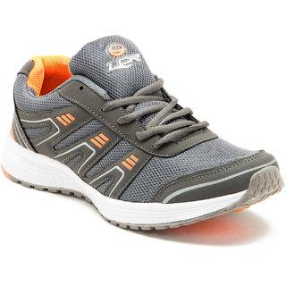 Lancer Men's Orange & Green Sports Shoes