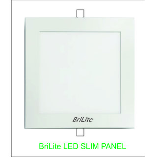 BriLite Led Slim Panel Light 12 watt , Shape - Round /Square