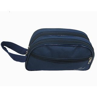 3 Pocket Blue Color Utility Pouch