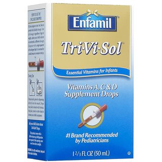 Enfamil Tri-Vi-Sol Supplement Drops - 50ml