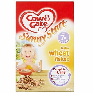 Cow & Gate Sunny Start Baby Wheat Flakes (7m+) - 200G
