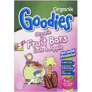 Organix Goodies Organic Fruit Bars Date & Apple