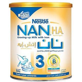 Nestle Nan (H.A.) Hypoallergenic 3 ((1Y+) - 400G