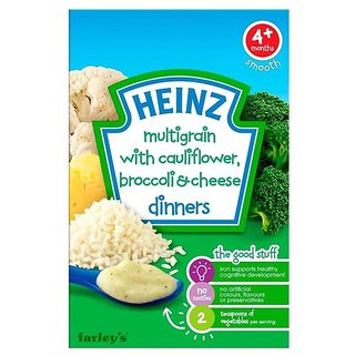 Heinz Multigrain With Cauliflower & Broccoli Cheese (4m+) - 125G