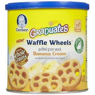 Gerber Graduates Waffle Wheels 42G - Banana Cream