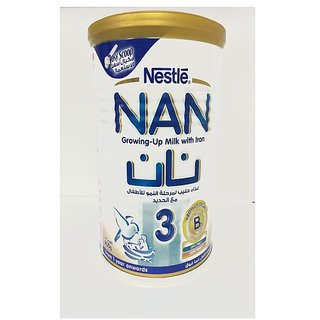 Nestle Nan 3 (1-3Y) - 400G (Imported)