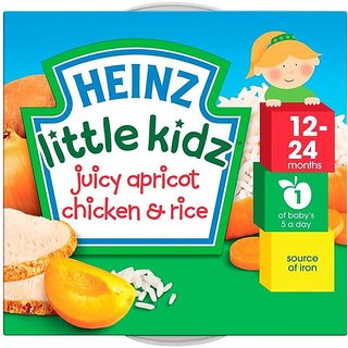 Heinz Little Kidz Juicy Apricot Chicken & Rice (12-24m) - 230G