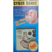 CYBERSONIC HEARING AID Sound Enhancer Aid Machine For Ear Hearing Problem AGED