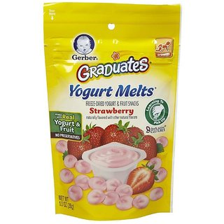 Gerber Graduates Yogurt Melts 28G - Strawberry (Pack of 2)