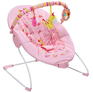 Mastela Soothing Vibrations Bouncer - 6787 (Pink)