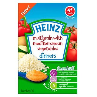 Heinz Multigrain With Mediterranean Vegetables (4m+) - 125G