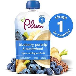 Plum Blueberry, Parsnip & Buckwheat (4m+) - 100G