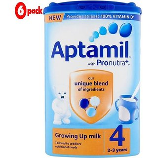 Aptamil 4 Growing Up Milk (2-3 Yrs) - 800G (Pack of 6)