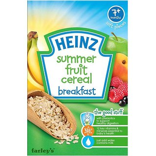 Heinz Summer Fruit Multigrain (7m+) - 120G