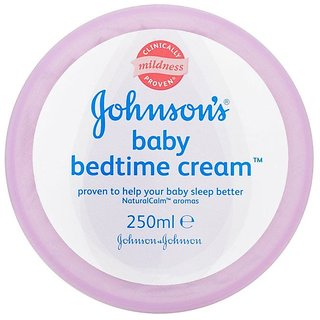 Johnsons Baby Bedtime Cream - 250ml