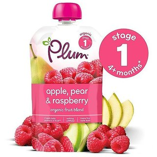 Plum Apple, Pear & Rasberry (4m+) - 100G