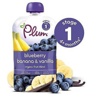 Plum Blueberry Banana & Vanilla (4m+) - 100G