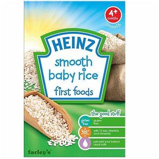 Heinz Smooth Baby Rice First Foods (4m+) - 100G