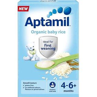 Aptamil Organic Baby Rice (4-6m+) - 100G