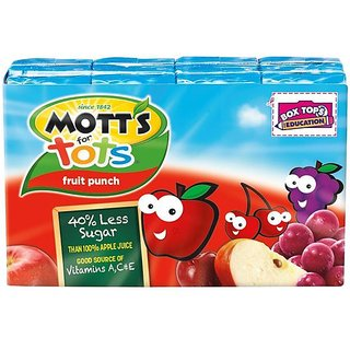 Motts For Totts Fruit Punch - 200ml (6.75oz)