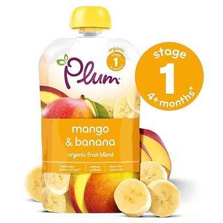 Plum Mango & Banana (4m+) - 100G