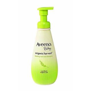 Aveeno Baby Organic Harvest Foaming Wash & Shampoo - 236ml (8oz)