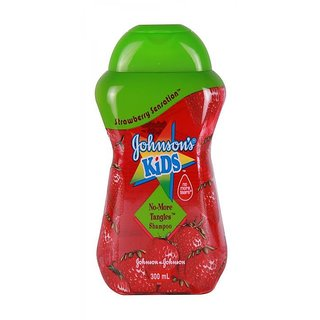 Johnsons Kids No More Tangles Shampoo 300ml - Strawberry Sensation