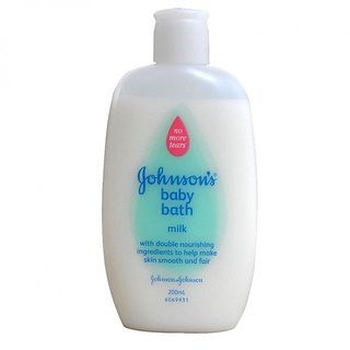 Johnsons Baby Bath 200ml - Milk