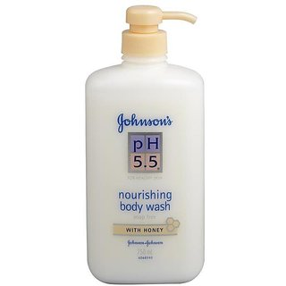 Johnsons Ph 5.5 Nourishing Bodywash With Honey - 750ml