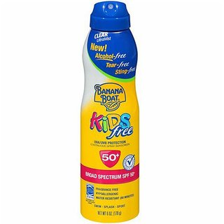 Banana Boat Kids Continuous Spray Sunscreen SPF50 - 170G (6oz)