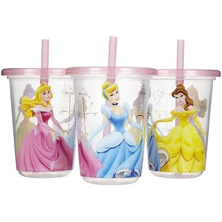 The First Years Take & Toss 3 Straw Cups (18m+) - 300ml (10oz) Disney Princess